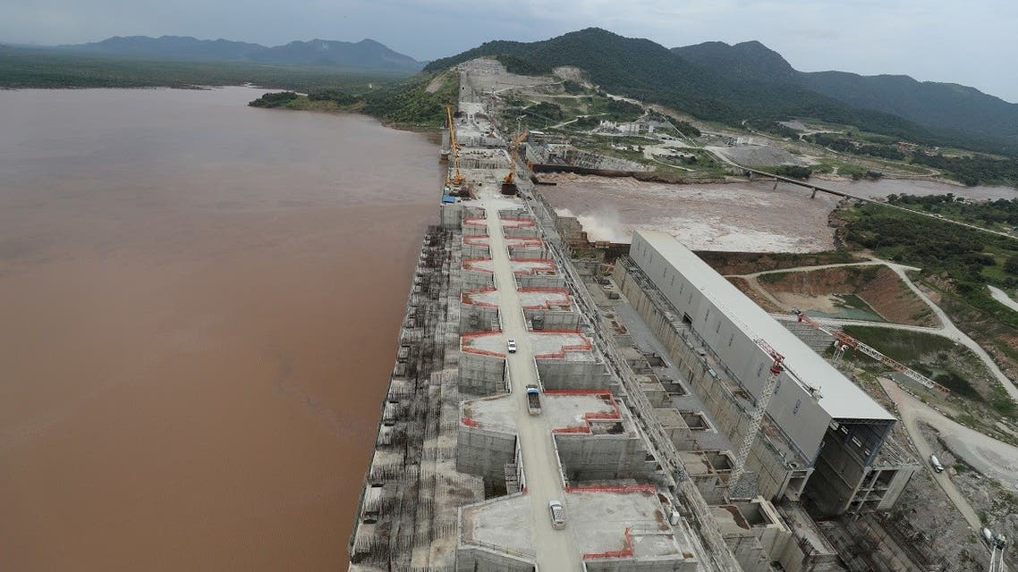 Ethiopia's Grand Renaissance Dam undergoes construction work on the river Nile in Guba Woreda, Benishangul Gumuz Region. (File Photo: Reuters)