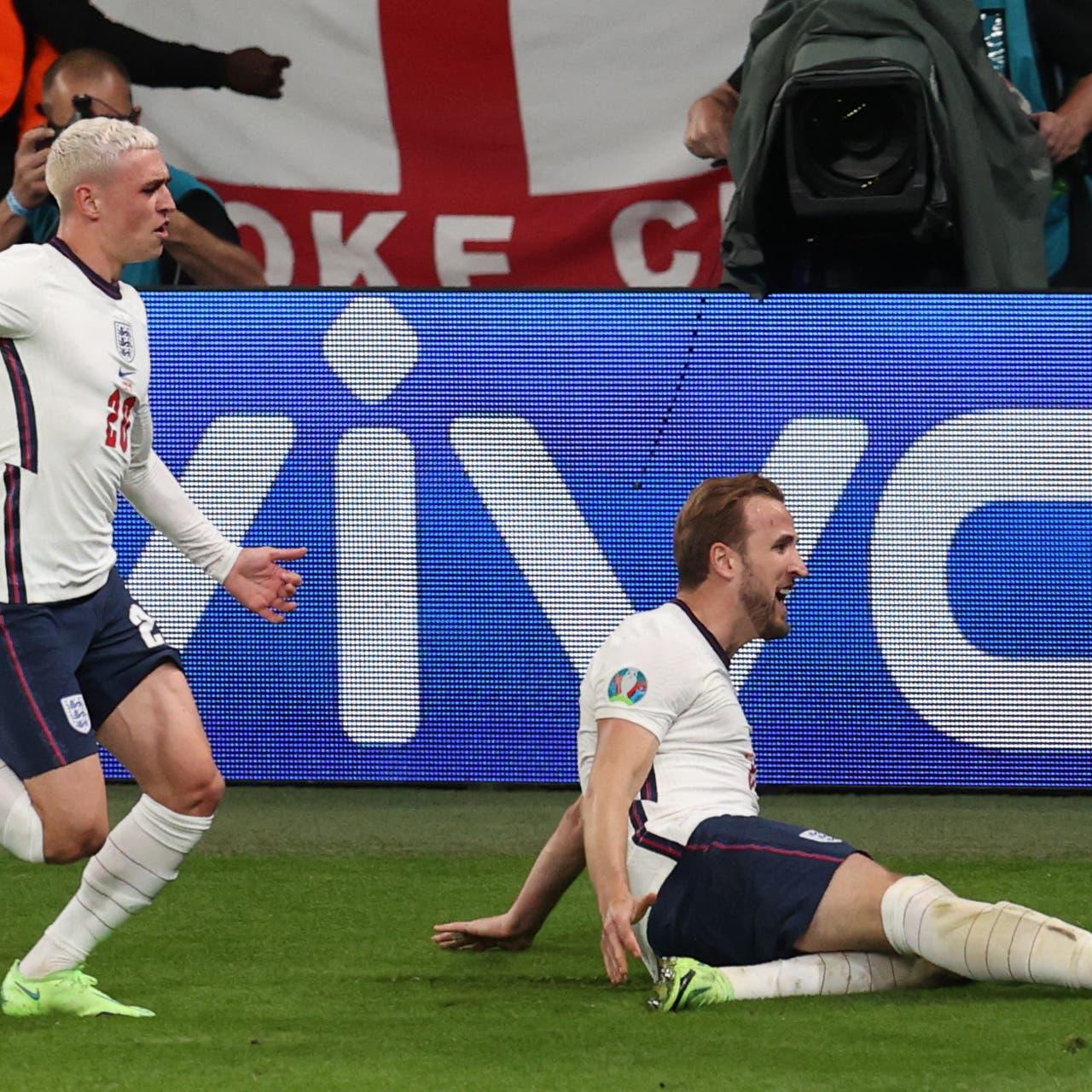 هاري كين يقود إنجلترا إلى نهائي بطولة أوروبا