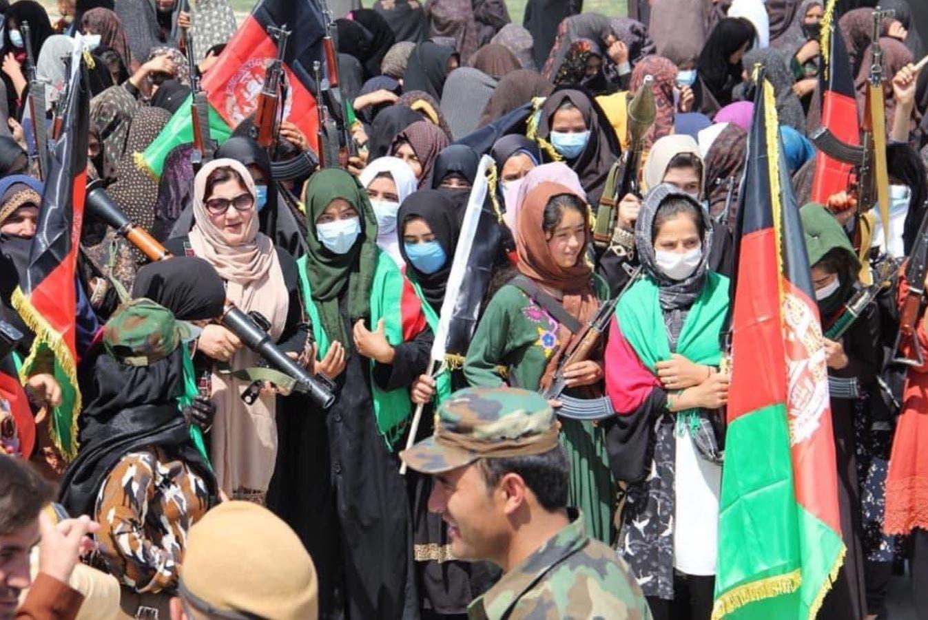 زنان افغان علیه طالبان بسیج شدند