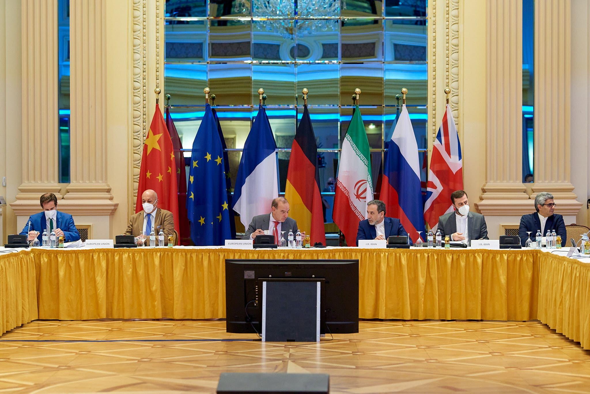 من المحادثات في فيينا حول الملف النووي الإيراني
