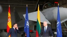 Fighter jets scramble, interrupt Spanish, Lithuanian leaders' press conference