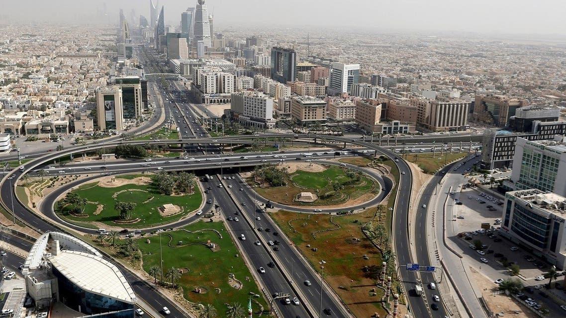 General view in Riyadh, Saudi Arabia, June 21 2020. (Reuters)
