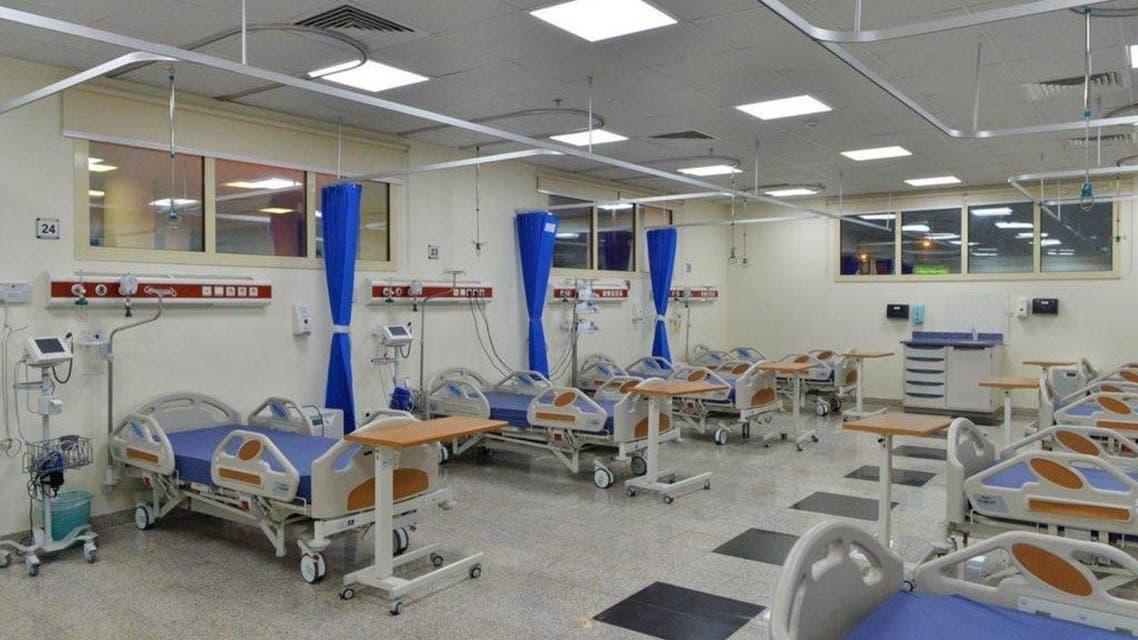 جانب من تجهيزات مستشفيات مكة