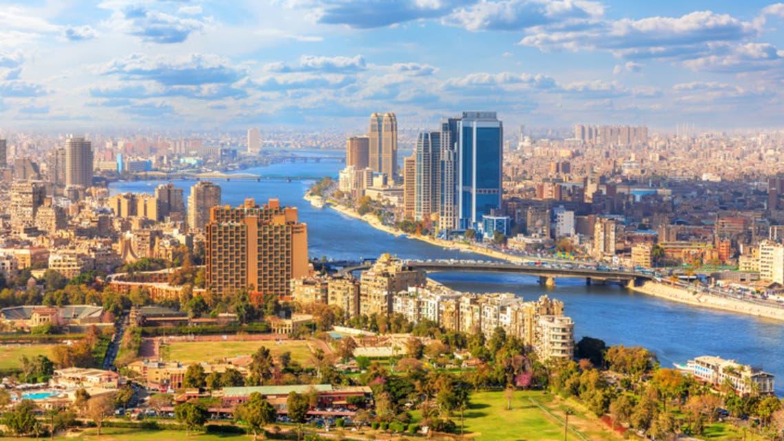 نهر النيل القاهرة (آيستوك)