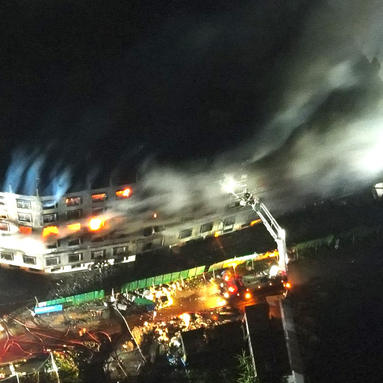 Bangladesh factory fire inferno kills 52