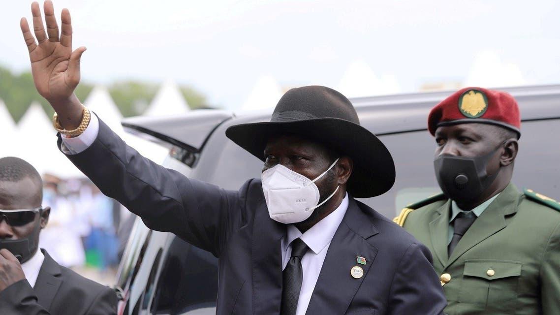 South Sudan's President Salva Kiir  in Juba, South Sudan. (Reuters)