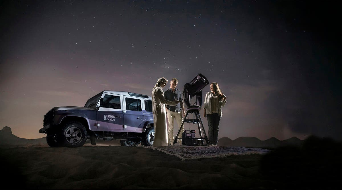 The mobile stargazing session will accommodate up to 20 guests at one time will have a maximum duration of 2-hours after sunset. (Courtesy: Shurooq)