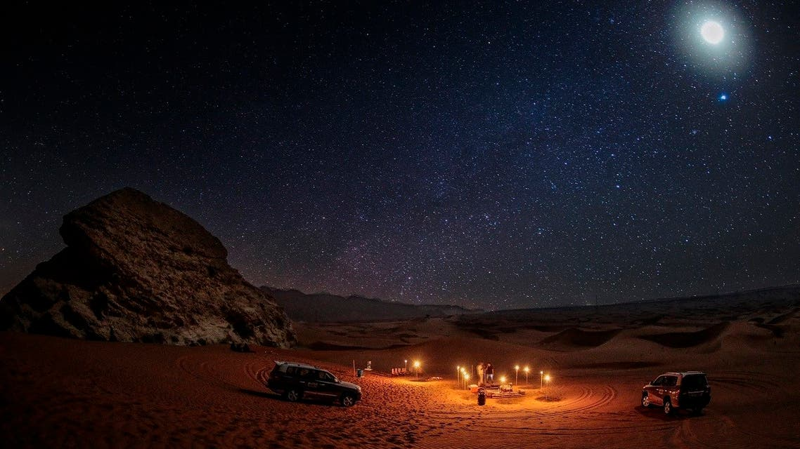 The stargazing experience by Mleiha also brings fun and education together turning it into an unforgettable science lesson for the young ones. (Courtesy: Shurooq)
