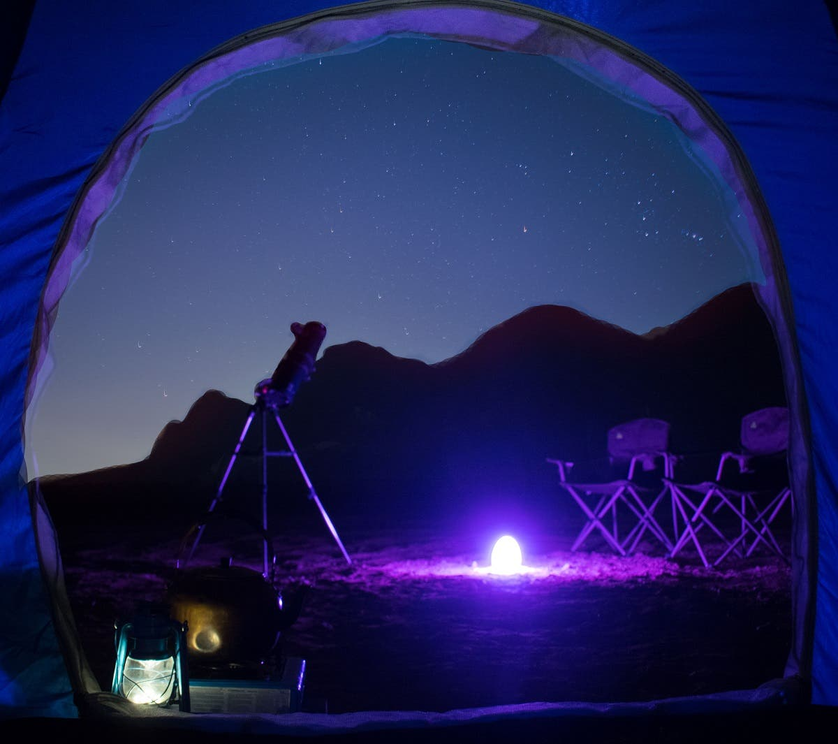 The on-the-move activity by Mleiha is designed for astronomy enthusiasts who want to observe the night sky wonders in their comfort zone. (Courtesy: Shurooq)