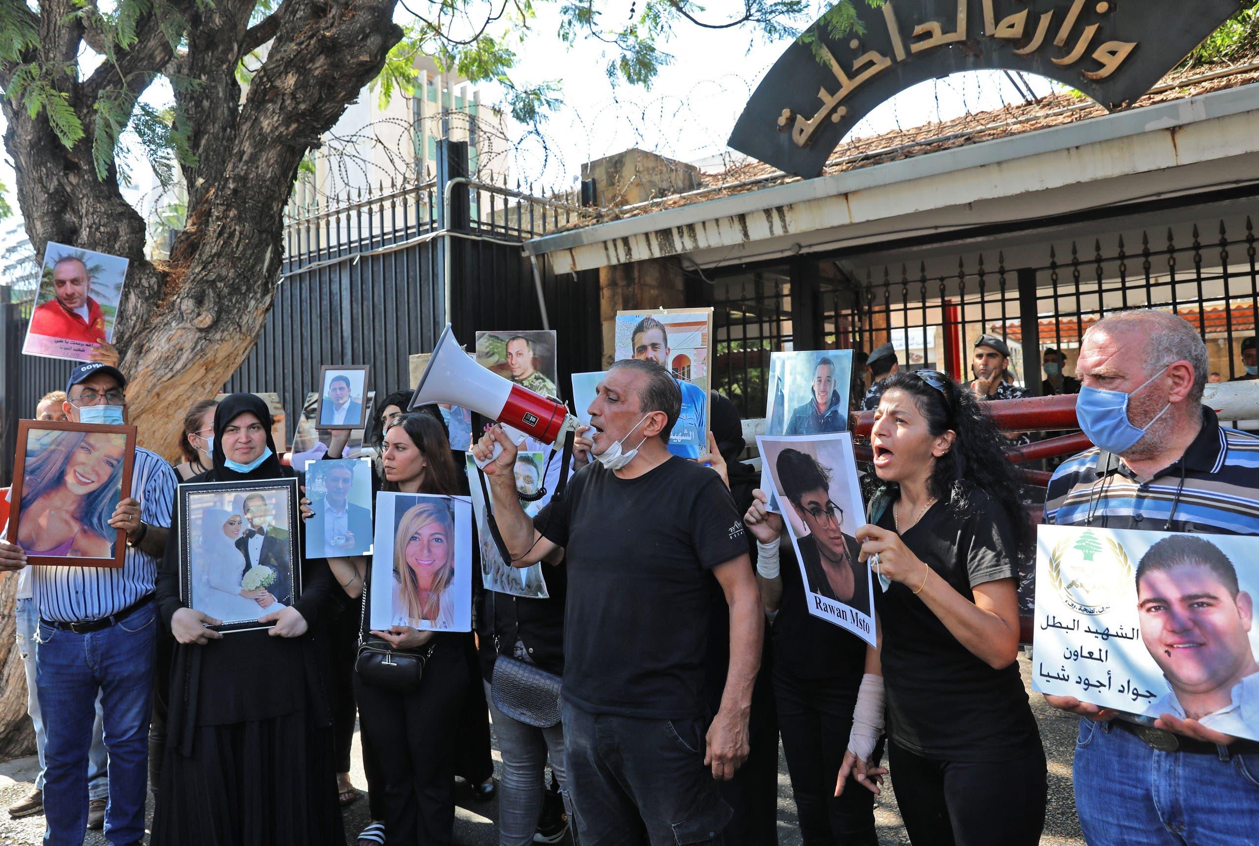 من أهالي ضحايا مرفأ بيروت (أرشيفية- فرانس برس)