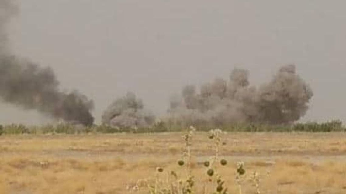 جبهه جنگ در استان مارب یمن