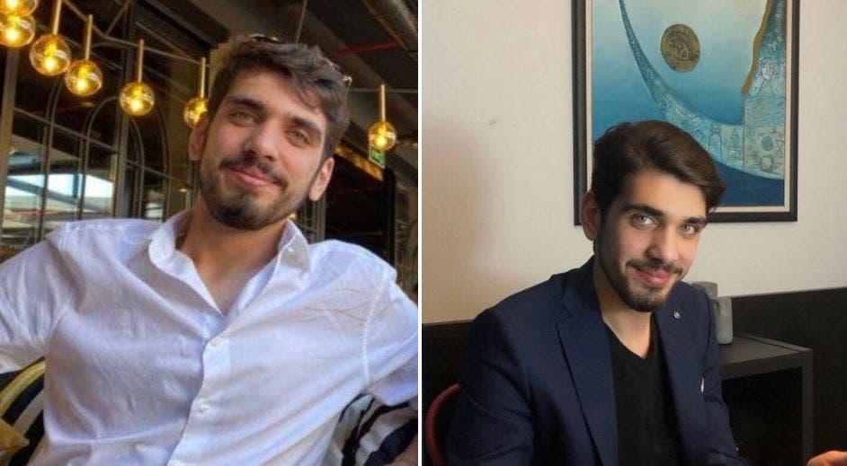 علی المكدام قبل ربوده شدن توسط ربایندگان