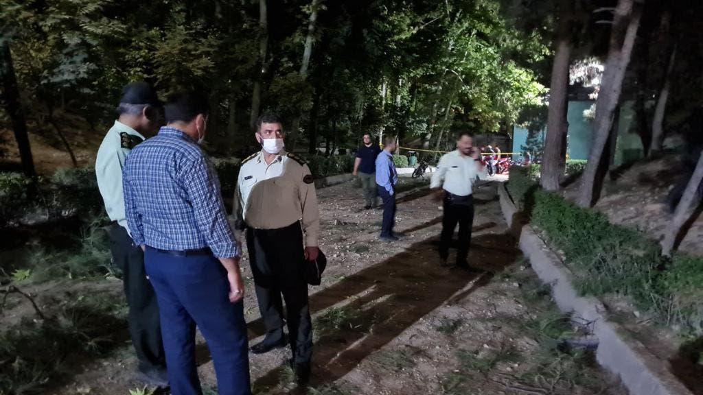 انفجار ولیعصر تهران