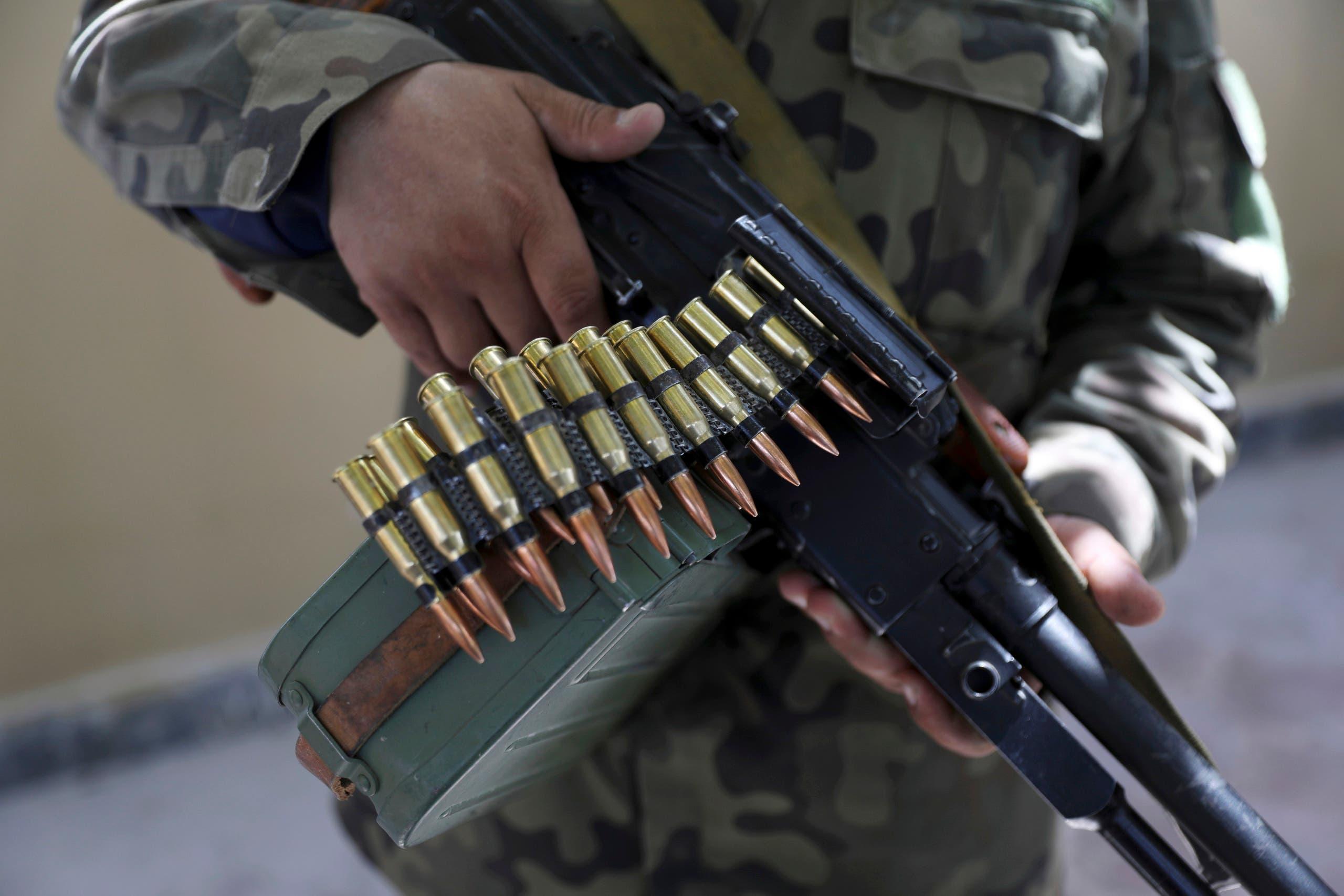 فصائل مسلحة أفغانية ضد طالبان (أسوشييتد برس)