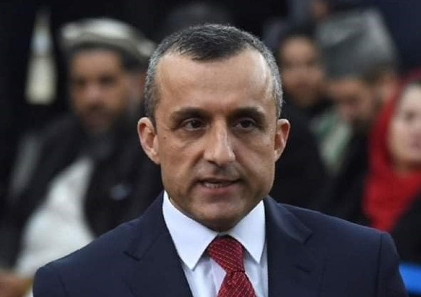 امرالله صالح معاون اول رییس جمهوری افغانستان
