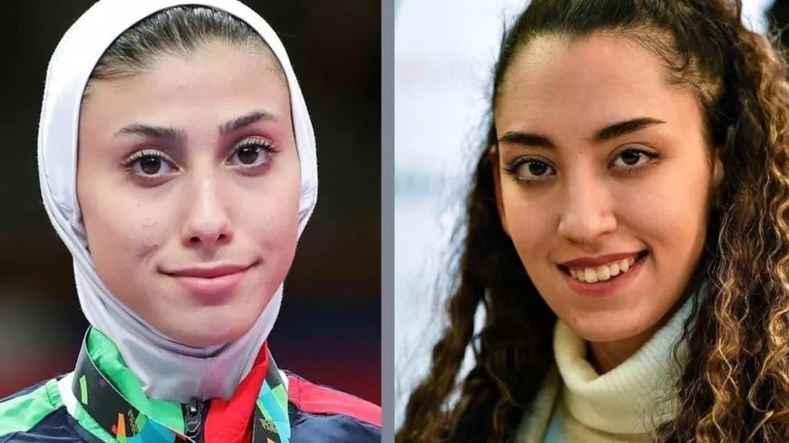 دو تکواندوکار ایرانی