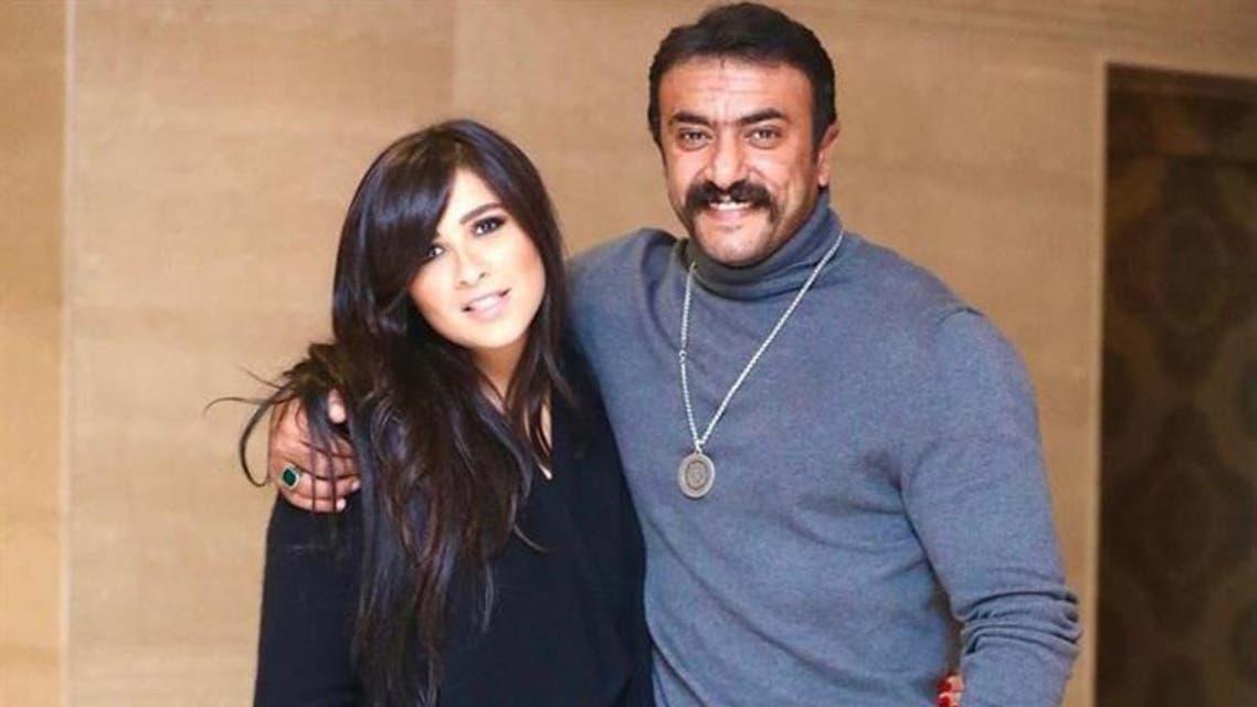 ياسمين عبدالعزيز وزوجها أحمد العوضي