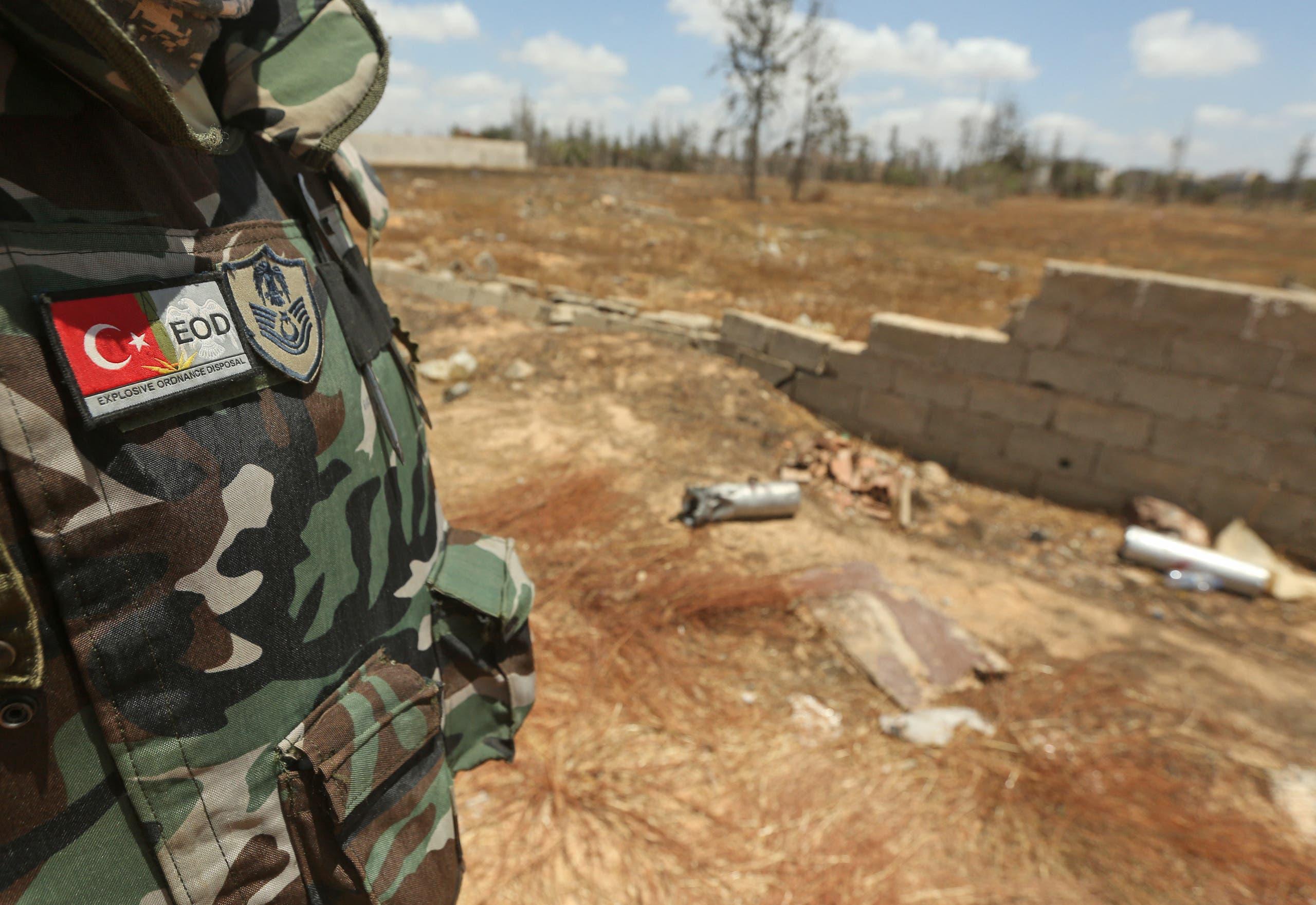 قوات تركية في ليبيا (أرشيفية)