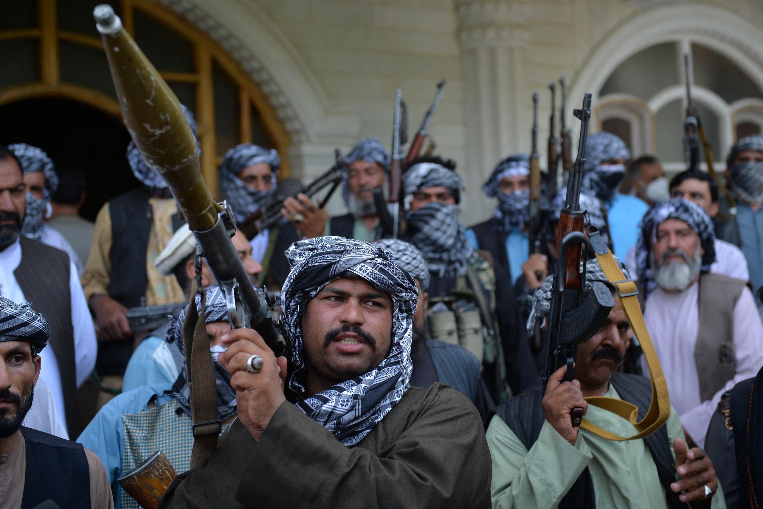 ميليشيا محلية تقاتل طالبان الآن في هيرات