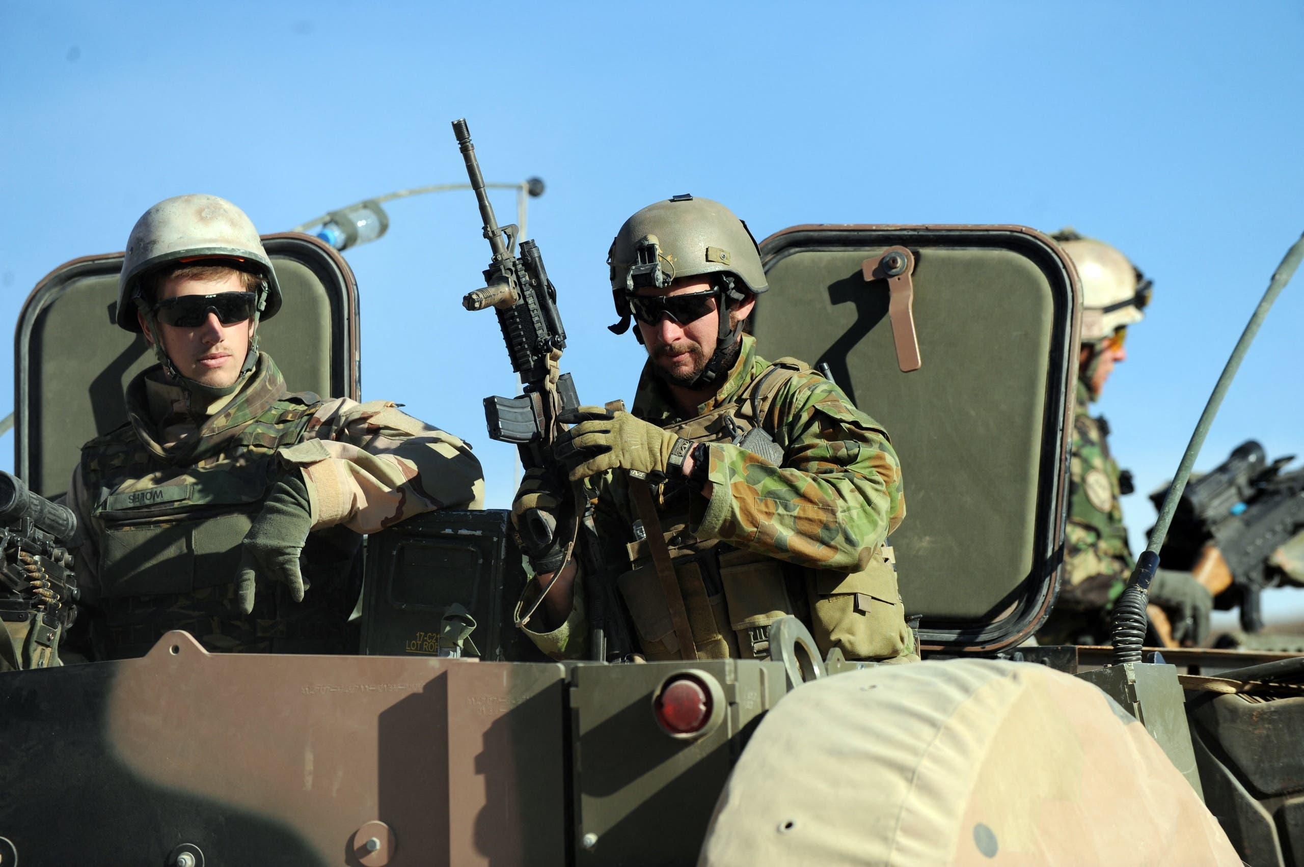 جنود أستراليون ضمن قوات الناتو في أفغانستان (أرشيفية)