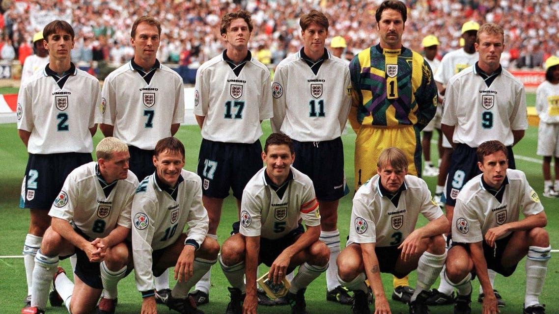 تیم فوتبال انگلیس 1996