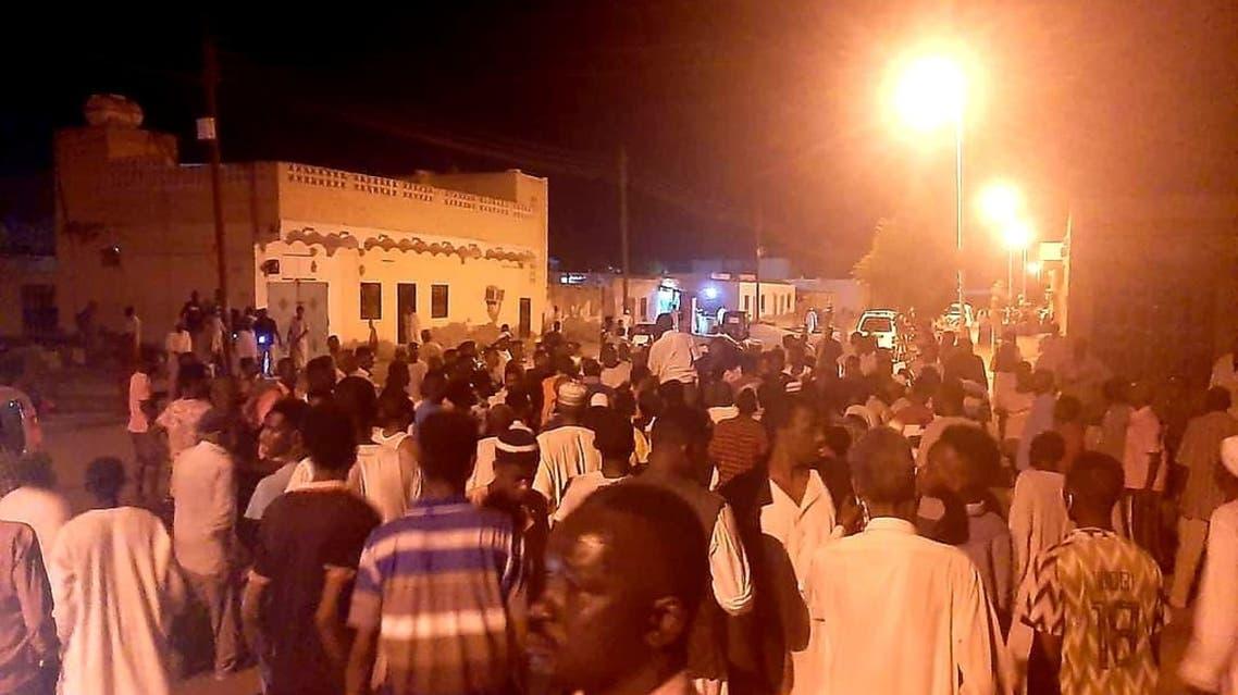 السودان انفجار نادي رياضي