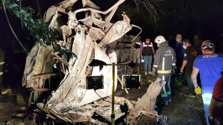 ترکی میں غیر قانونی تارکین وطن کی بس کو حادثہ، پاکستانیوں سمیت 12 افراد ہلاک