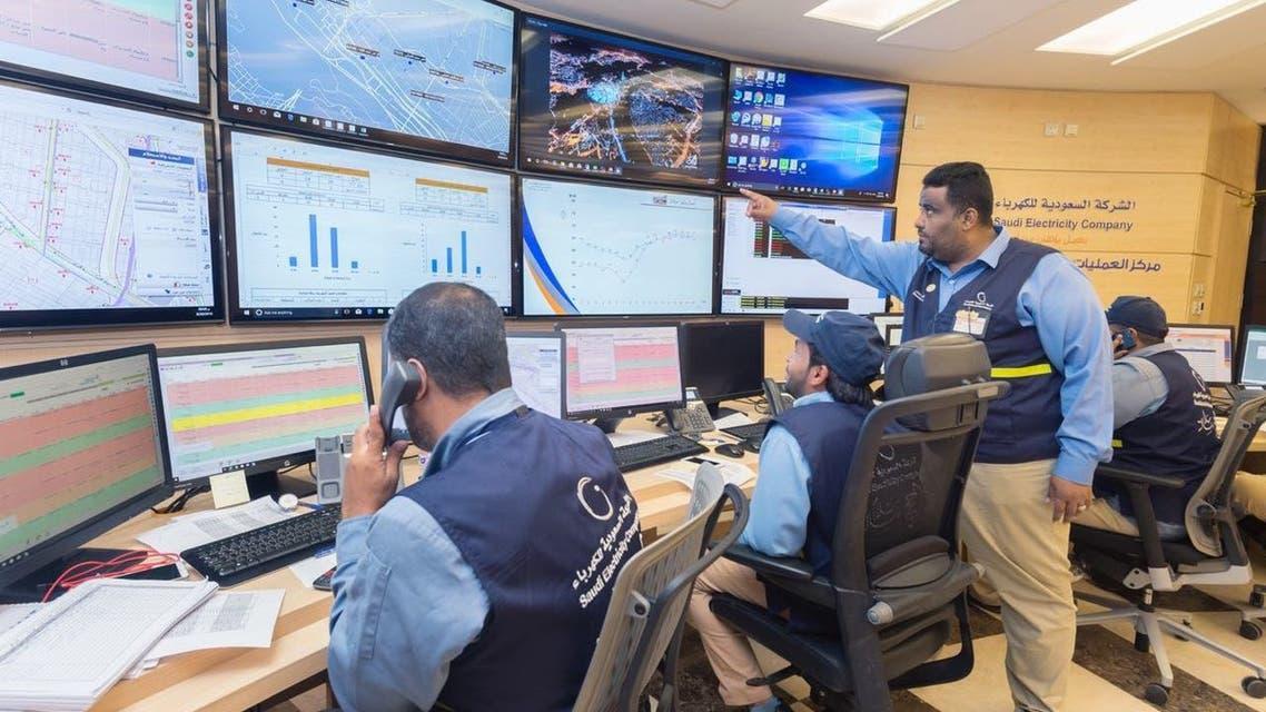 الشركة السعودية للكهرباء في الحج