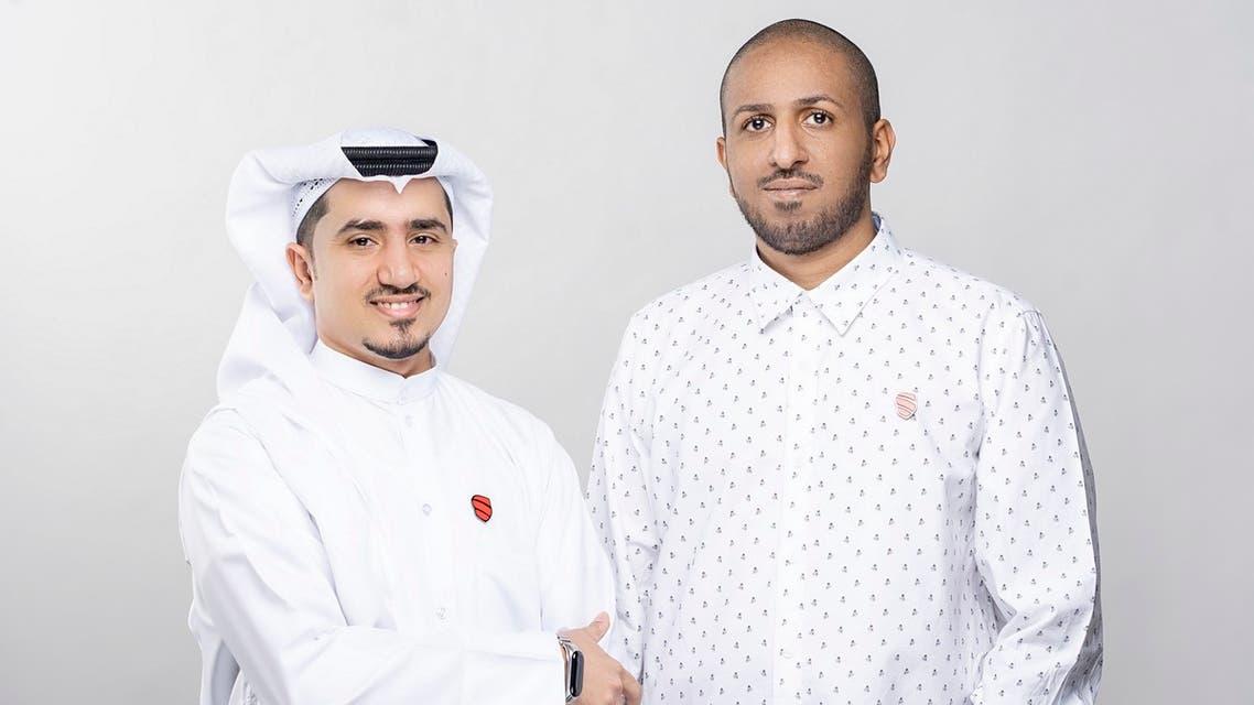 Abdullah bin Shamlan and Ameen Mahfouz, co-founders of Speero. (Supplied)