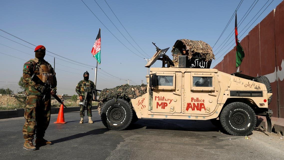 قوات الأمن الأفغانية (رويترز)