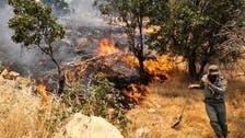 آتشسوزی جنگلهای «نارک» گچساران همچنان ادامه دارد