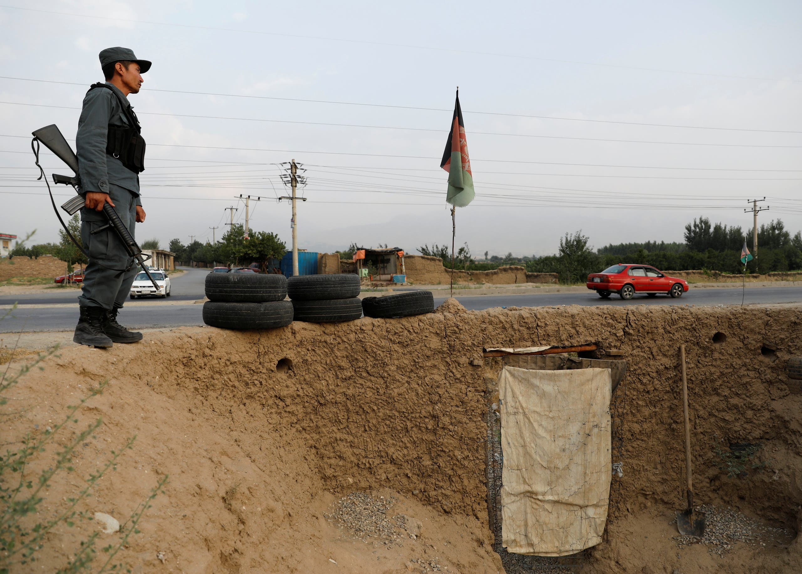 قوات أفغانية (رويترز)