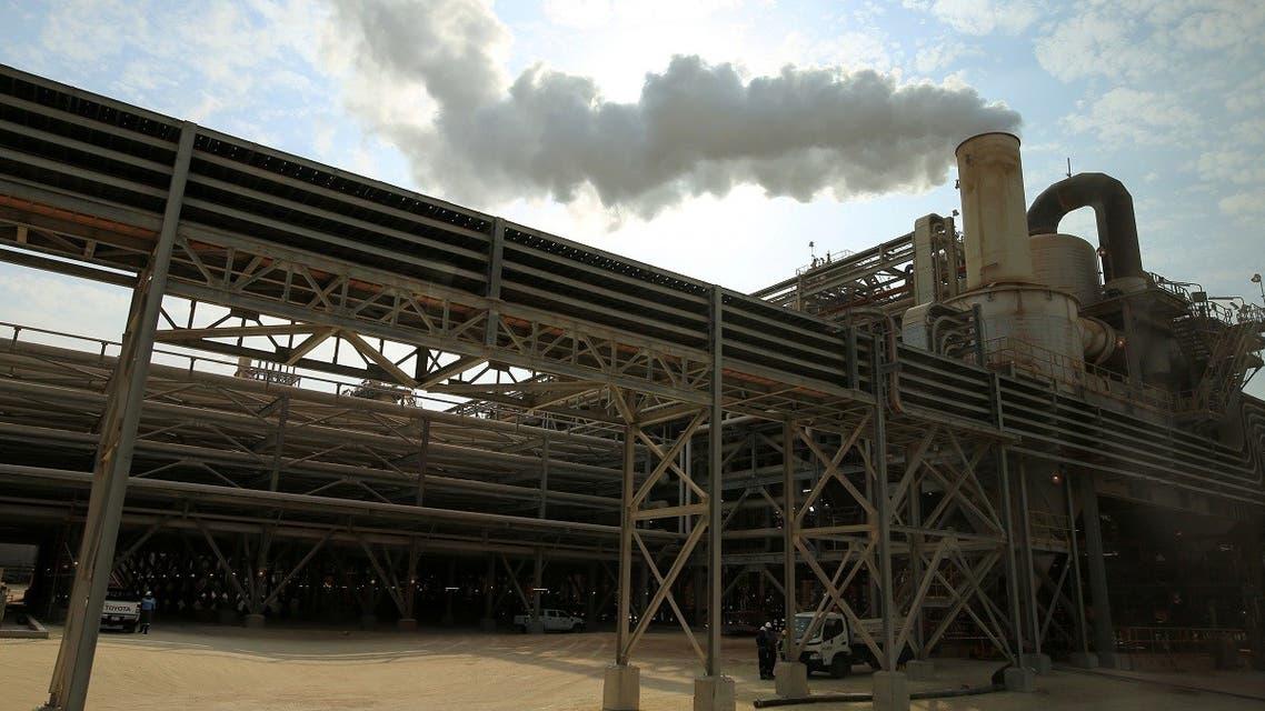 A view shows Maaden Aluminium in Ras Al Khair, Saudi Arabia. (File Photo: Reuters)