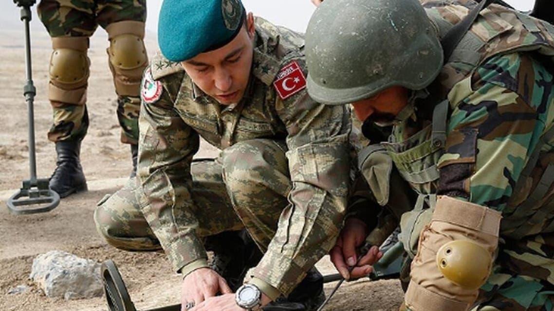 سربازان ترکیه در افغانستان