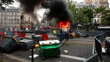 Protesters clash with police in France against coronavirus 'health pass' rules