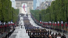 France honors Europe's anti-extremist troops on Bastille Day celebrations