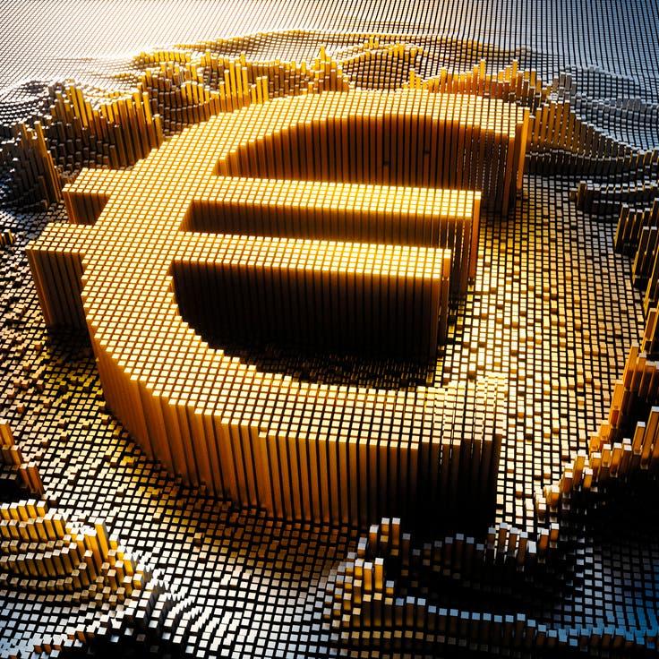 """المركزي الأوروبي يطلق مشروعاً تجريبياً لإنشاء """"اليورو الرقمي"""""""