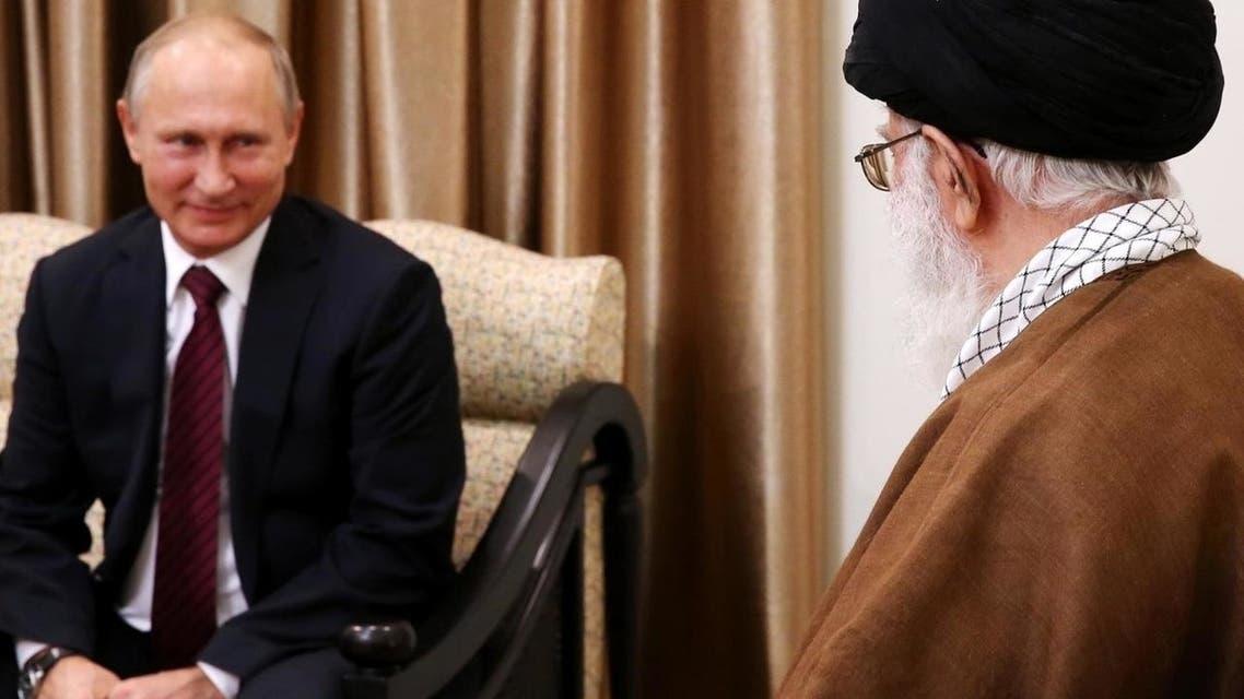 خامنهای پوتین