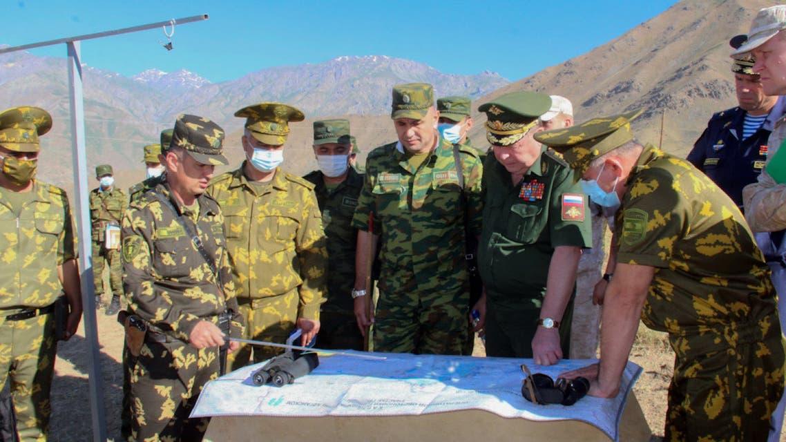 Russian Army Commander In Tajikistan