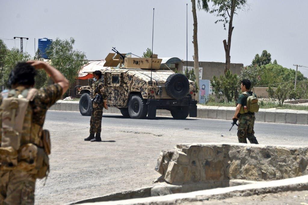 قوات أمن أفغانية في قندهار