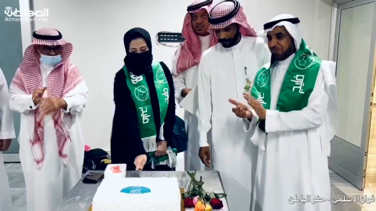 Abrar Shaker, chairman of Saudi football club FLIG. (Screengrab)