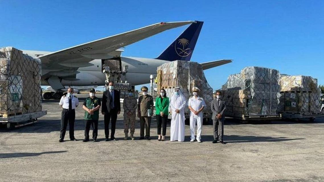 Two Saudi aircrafts containing vital COVID-19 medical supplies has arrived in Tunisia, under the orders Saudi Arabia's King Salman, Saudi Press Agency (SPA) reported on Thursday. (Supplied)