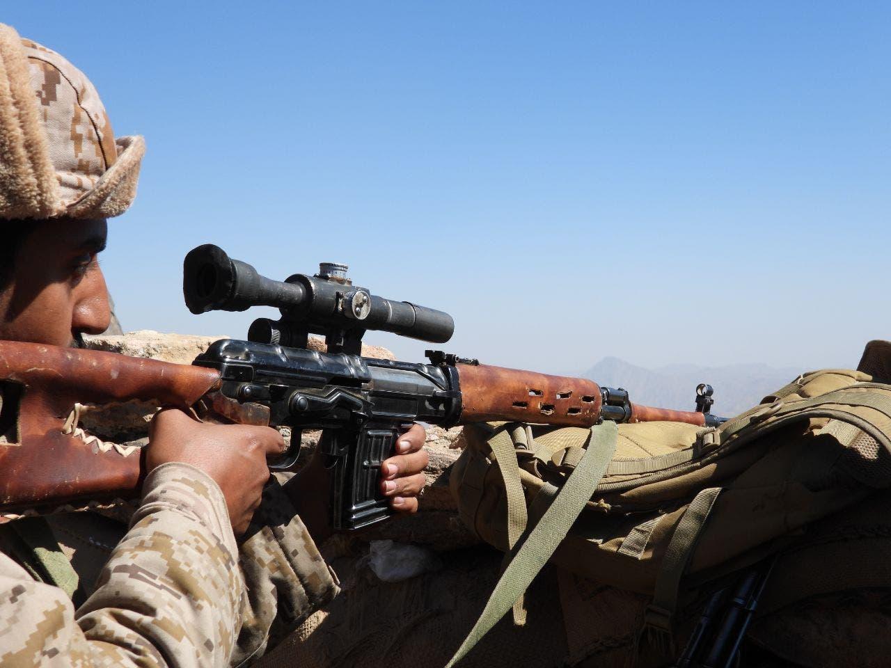 الجيش اليمني في معارك مأرب