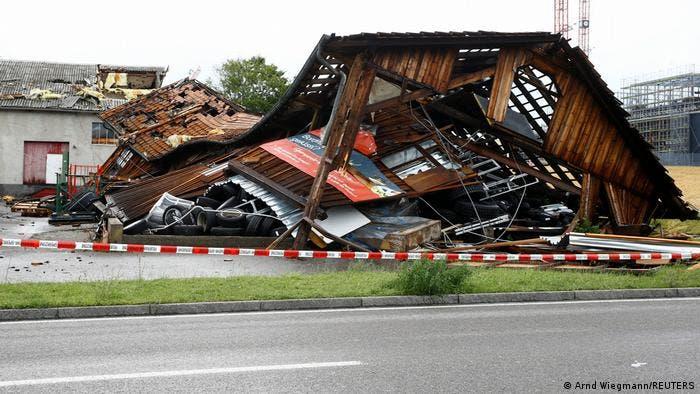 من عواصف ألمانيا
