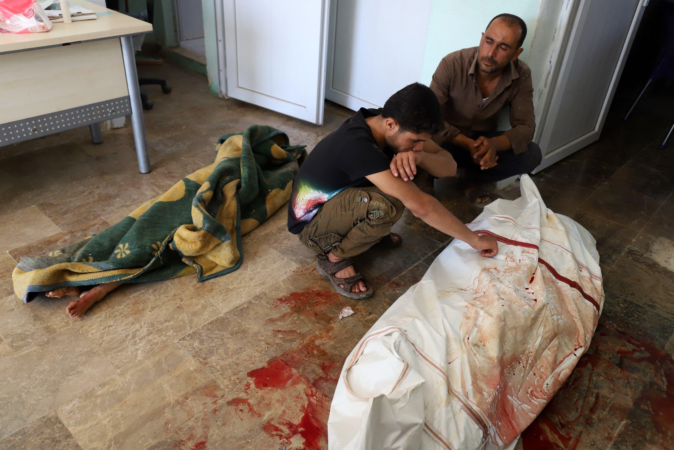 مقتل شخص إثر غارات سابقة للنظام في جبل الزاوية في إدلب مطلع يوليو