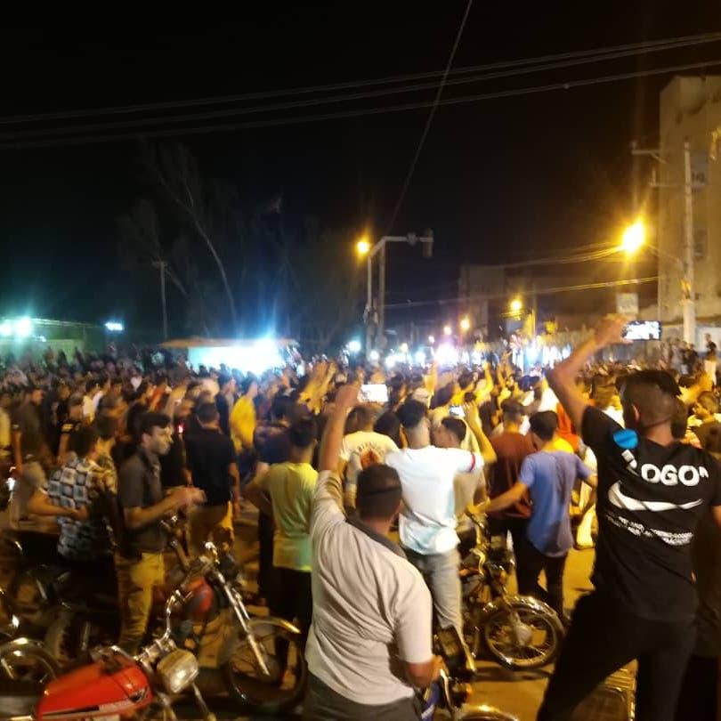 """مظاهرات بالأهواز ضد نقل المياه .. المواطنون العرب يدينون """"مخطط التهجير"""""""