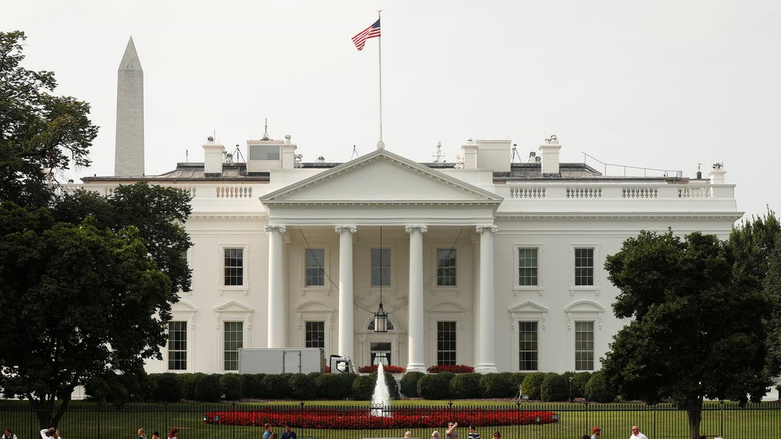 The US flag flies at full staff over the White House in Washington. (File photo: Reuters)