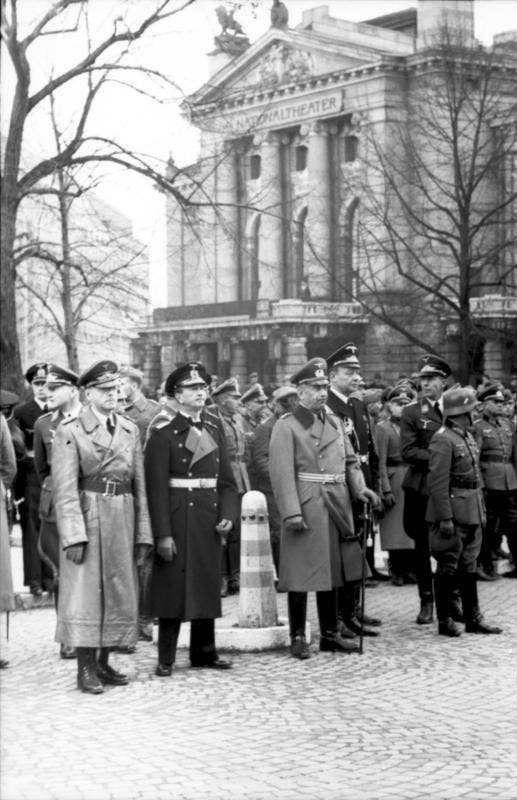 صورة لعدد من العسكريين الألمان بالنرويج