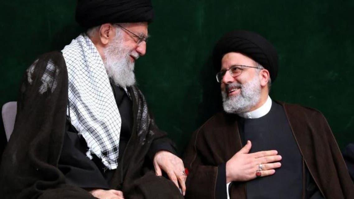 علی خامنهای ابراهیم رئیسی