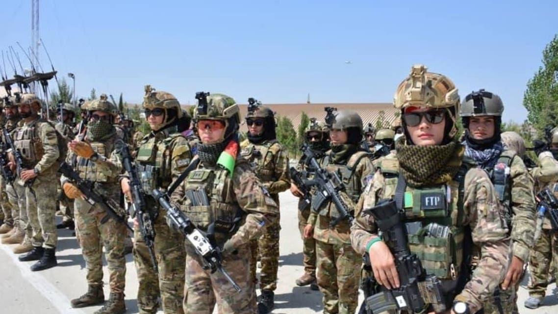وزارت دفاع ملی افغانستان از فرستادن 135 کماندوی تازهنفس به میدان جنگ خبر داد